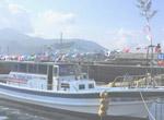 平戸の世界遺産クルージング船「オーロ・イキツキ・サリー」号