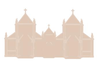 2.教会堂が建ち、キリスト教が広がる
