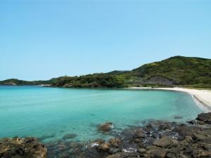 根獅子の浜(根獅子海水浴場)
