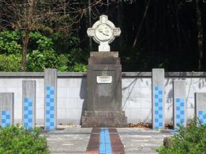 フランシスコ・ザビエル記念碑(崎方公園内)