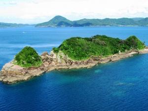 中江ノ島(世界遺産)