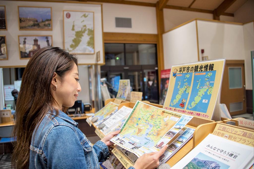 平戸市観光案内所(案内・レンタサイクル)