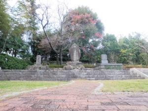 三浦按針の墓(崎方公園内)
