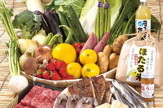 直売所で野菜や魚などを買いたい!イメージ