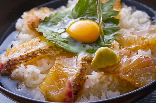 「海鮮」でも平戸郷土食の「鯛茶漬け」!イメージ